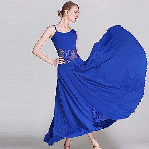 Modern Lady Es Big Pendel Kleid Ballroom Dance Kleid Kostüm Modern Dance Dress Tanzwettbewerb Performance - Modern Dance Kleid Kostüm