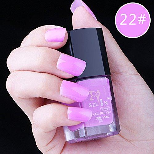 Watopi Vernis À Ongles En Gel Couleur Peel Off Nail Art Cosmetic Polish 15ML