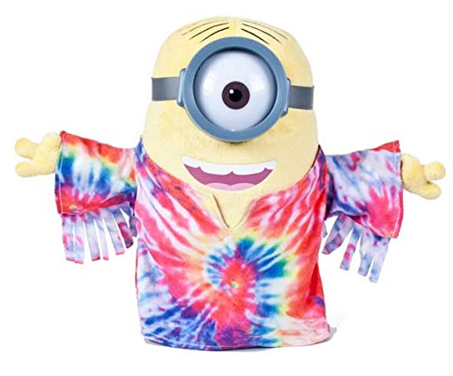 Minion Stuart T-shirt Hippie Plush - Despicable Me 2 - 28cm 11""