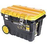 UK Planet UPT-4026 - Caja de herramientas profesional (27/72 cm, ruedas, con bandeja de bola)