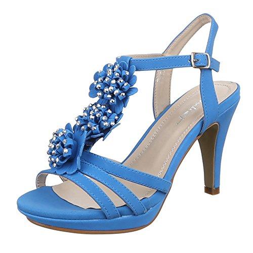Ital-Design - Sandali  donna Blu (Blu)