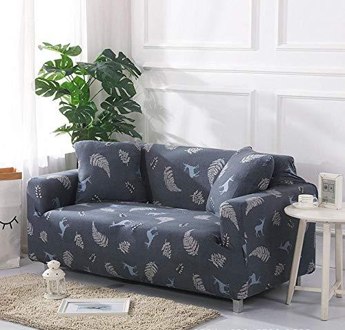 NHFGJ Funda para sofá elástica Antideslizante Multifuncional Todo Incluido Cuatro Estaciones Universal...
