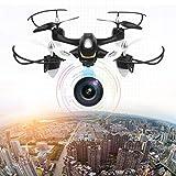 EACHINE E33C 2.4G 6CH With 2MP Camera Headless Mode LED Night Flight RC Drone Quadcopter RTF?Black