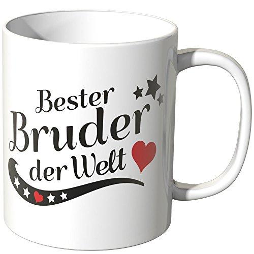 Wandkings® Tasse, Spruch: Bester Bruder der Welt - Weiß