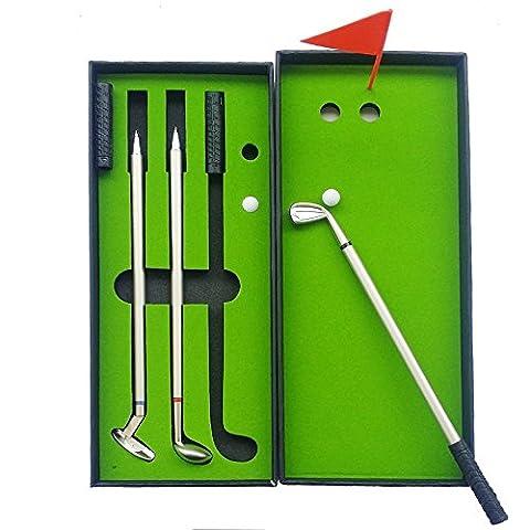 Crestgolf Golf Pen Set,Golf Clubs Gift