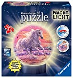 Ravensburger 11843 3D-Puzzle Pferde Am Strand, Nachtlicht