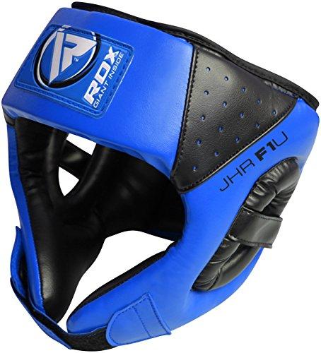 RDX Bambini Boxe Caschetto MMA Kick Boxing Pugilato Casco Protezione Muay Thai (CE certificato Approvato da SATRA)