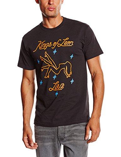 Kings of Leon Herren T-Shirt Kings Of Leon Stripper Schwarz - Schwarz