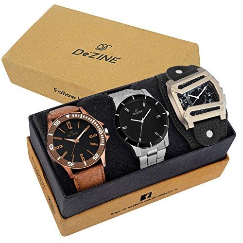 dezine-3-pcs-combos-of-black-coloured-quartz-watch-for-men-dz-cmb-7