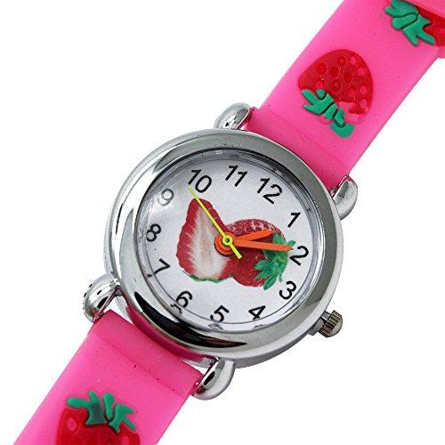 Abeillo Kinder Cartoon Sieh dir Quarz an Schaue Slap Uhren für Kinder Jungen Mädchen bunt