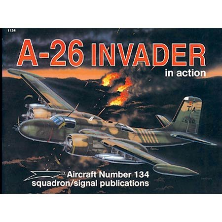 A-26 Invader in action - Aircraft No. 134