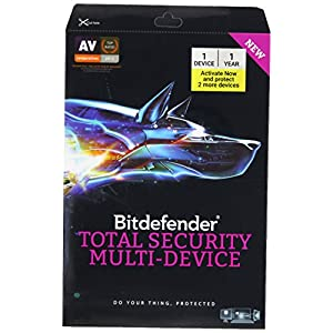 BitDefender Total Security Latest Version (Windows / Mac / Android / iOS) – 3 User, 1 Year (CD)