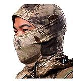 RoyMan Kapuzenmütze Maske Camouflage Das Gesicht Bedeckend Militär Taktisch Ninja Kapuze Jagd Radsport Maske Camo - Waistland