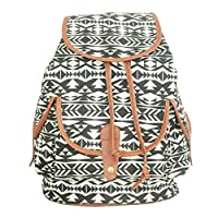 zrdLove Canvas Printed Swallow Backpack Casual Backpack