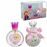 Air-Val Disney Frozen / Die Eiskönigin / Geschenk-Set, Eau de Toilette Parfum Spray plus Badeschaum - für Kinder, 1 Stück