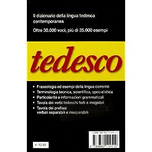 Tedesco. Tedesco-italiano, italiano-tedesco