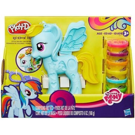 Play-Doh My Little Pony Rainbow Dash Style Salon Playset by Play-Doh