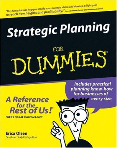 Strategic Planning for Dummies por Erica Olsen