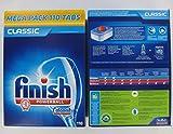 Finish Pastillas para lavavajillas, 110