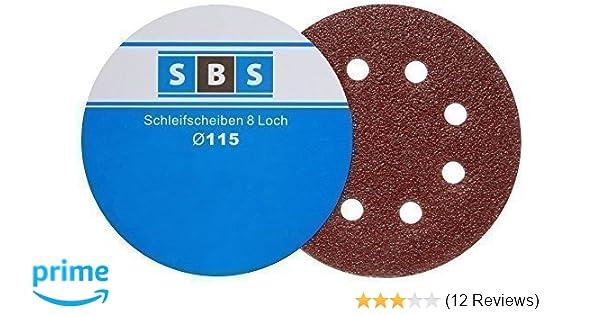 SBS Klett-Schleifscheiben ø 225 mm Korn 60 Schleifpapier für Langhalsschleifer