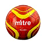 Mitre-Ulama-Soccer-Ball,-Red,-Size-5,-5/Red
