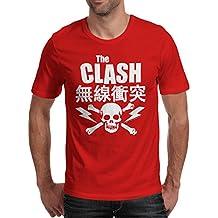 Herren-T-Shirt The Clash - Japanese Tee 100% bauwolle LaMAGLIERIA