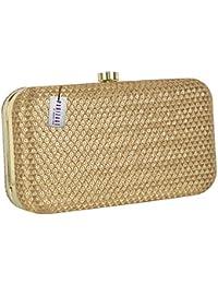 Gold Women s Clutches  Buy Gold Women s Clutches online at best ... b4b9922b68