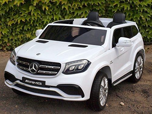 Allrad f 2 Kinder XXL Kinderelektroauto kinderauto Mercedes GLS 63 4x4 gefedert Zweisitzer Kinderelektrofahrzeug 12V Jeep Offroader*