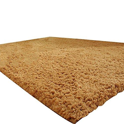 L&Y tapis Beau tapis épais salon table basse table carré 140 * 200 cm cryptage Evergreen Champagne Non-Slip Mat (Couleur : Champagne, taille : 140 * 200)
