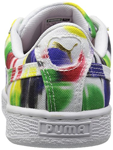 Style de Sneaker Classic Puma panier Classic Cvs Blur Wn white