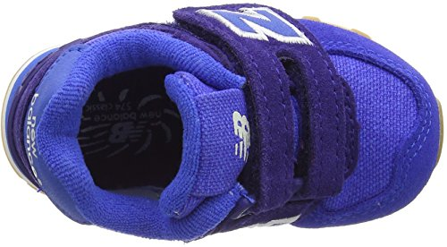 New Balance Kv574esi M Hook and Loop, Scarpe da Ginnastica Basse Unisex – Bambini Blu (Blue)