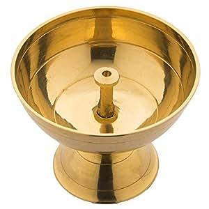Swayambhu Brass Pyali Deepak (6cm)