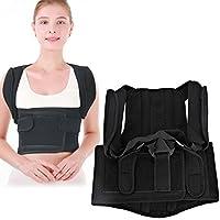 Cinturón corrector de postura, soporte para la espalda ajustable y corrección del hombro para la postura vertical y posición de sentado estable para hombres mujeres niños(SS)