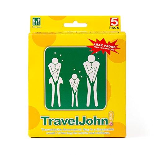 Portable Travel Emergency Einweg geruchlos Urinal Urinbeutel Unisex 4er Pack