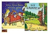 Beltz & Gelberg PAPPBILDERBUCH: Wenn Kleine Bären Schlafen Gehen: Pappbilderbuch mit Klappen + der Grüffelo: Vierfarbiges Kinderbuchklasiker