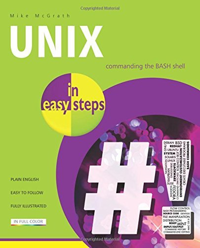 Unix in easy steps by Mike McGrath (2014-05-27) par Mike McGrath