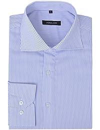 Uomo righe camicia bianche Amazon azzurra Abbigliamento it 4UPzqqTX