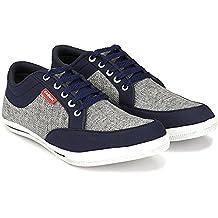Corstyle Fancy Men's Smart Fit Colorful Casual Canvas Shoes for Men