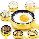 Mini-Haushalts-elektrische Bratpfanne-Bratpfanne-Spiegeleier-Dampfkessel-nicht-Stock gebratenes Steak-Pfannkuchen-Omelett-Frühstück-Hersteller
