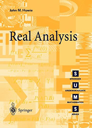 Real Analysis par John M. Howie