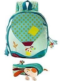 Set sac à dos et plumier- Jef - by Lilliputiens