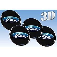 Rueda Ford Pegatinas para Rueda  Ford todos los tamaño centro tapa tapacubos Logo Iinsignia 3Dd