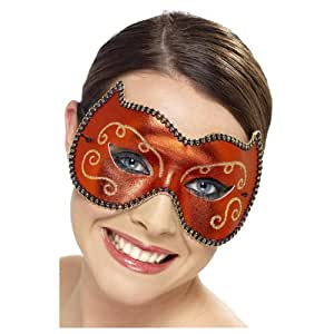 Masque loup rouge adulte