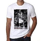 Tony Parker T-shirt,cadeau,Homme,Blanc, S,t shirt homme