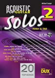 Acoustic Pop Guitar Solos 2: Noten & TAB - medium/advanced