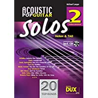 Acoustic Pop Guitar Solos Solf. & Tab Vol.2 CD - Acoustic Solo Tabs