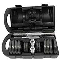 Premium Lacquer Coated Dumbbells Set 15KG, AL151