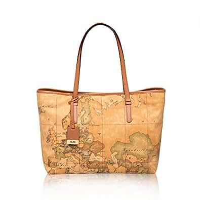 ALVIERO MARTINI Women's Shoulder Bag Beige Naturale