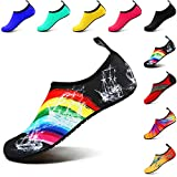 MORESAVE Unisex piedi nudi pelle scarpe dacqua Yoga calzini sport surf formatori sandali Calzature