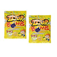 Zour Bomb Lemon Candy, 110gm (Pack of 2)